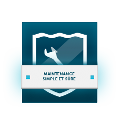 Maintenance simple et sûre